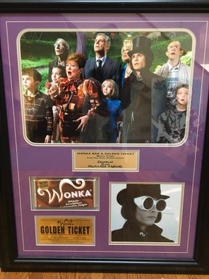 Willy Wonka Movie Props framed Photo for Sale in Wheeling, IL