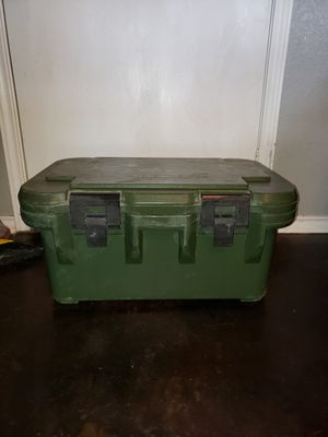 Army style Cambro food storage container for Sale in Killeen, TX