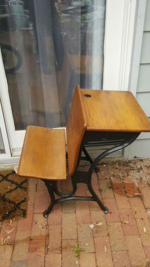 Antique school desk for Sale in Annandale, VA