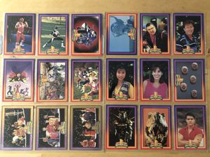 Power rangers vintage collectible cards for Sale in Culver City, CA