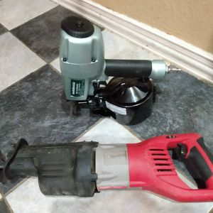 Metabo Siding/Milwaukee Saw Saw for Sale in Dallas, TX