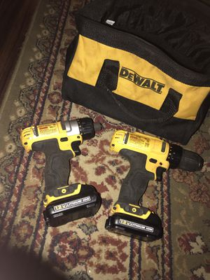 12v dewalt impact and drill for Sale in Keithville, LA
