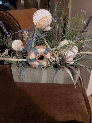 Pretty Little seaside flower arrangement for Sale in Land O Lakes, FL
