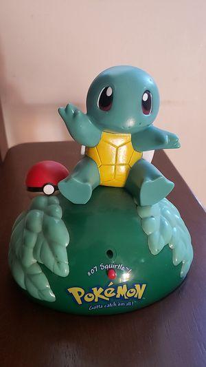 1999 Trendmasters Nintendo Pokemon Talking Squirtle figure for Sale in Whittier, CA