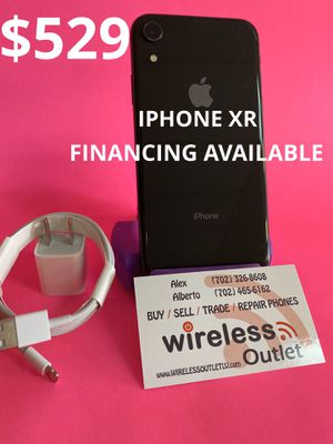 IPHONE XR 128GB T-MOBILE/METRO PCS!!! FINANCING AVAILABLE!!! for Sale in Las Vegas, NV