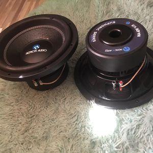 2/12 Nemesis Audio Subwoofers for Sale in El Cajon, CA