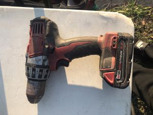 Milwaukee drill needs charger for Sale in Miami, FL