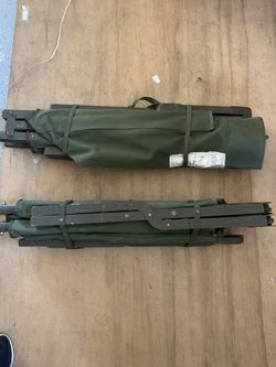 Two 1952 Military Cots Great Shape for Sale in Hudson, IA