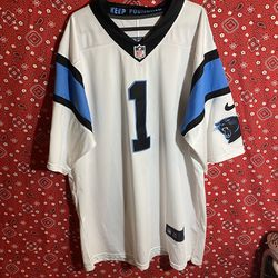 Nike Carolina Panthers Cam Newton Football Jersey Size XL for Sale in San Diego,  CA