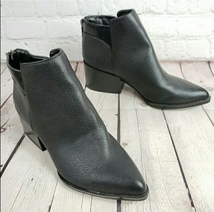 Black Vegan Leather Ankle Boots for Sale in Cudahy, WI