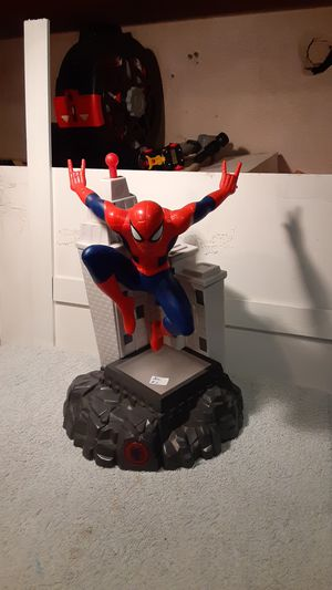 Spider Man talking Figure for Sale in San Antonio, TX