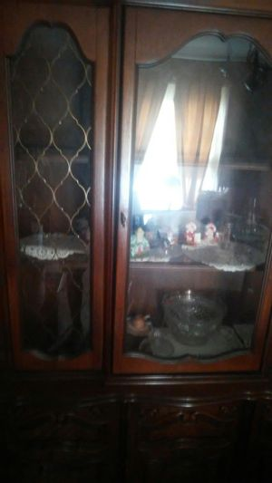 Antique China closet for Sale in Somerdale, NJ
