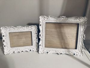 White Distressed Frames (5x7) and (8x10) for Sale in Hoboken, NJ