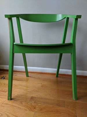 IKEA Stockholm Green Chairs (set of 2) for Sale in Fairfax, VA