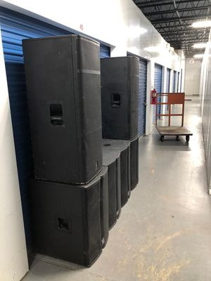 "My price for all Ev- bass subwoofer tour tx 18"" and voice EV 215"" all passive price for all 6 speakers all like almost new conditions for Sale in Lake Worth, FL"