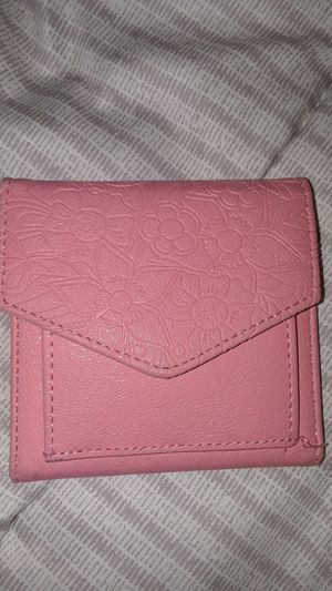 Pink small foldable wallet $3 firm for Sale in Compton, CA