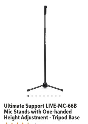Microphone Stand for Sale in Dallas, TX