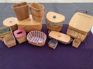 Longaberger Baskets for Sale in Torrance, CA