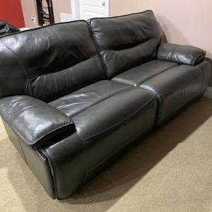 Gray Electric Reclining Sofa Couch Loveseat for Sale in Laurel, MD