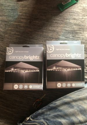 Canopy bright white lights new for Sale in Peoria, AZ