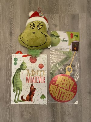 The Grinch bundle set for Sale in Port Charlotte, FL