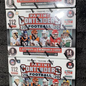 Panini Contenders 2020 Football Mega Box for Sale in Oxnard, CA