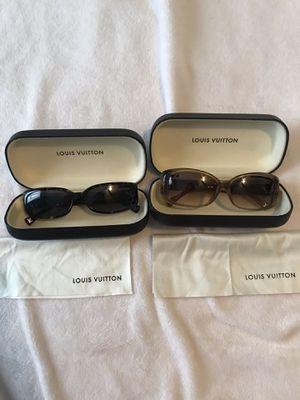 Authentic Louis Vuitton sunglasses for Sale in Riverside, CA