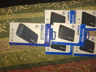 Pocket Juice Slim Pro 5,00 Nah And 20,0000mah for Sale in La Puente,  CA