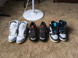 Nike and Adidas shoes size 10 and 11 for Sale in Columbus, OH
