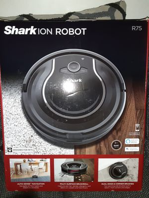 Shark ION Robot Vacuum R75 with Wi-Fi (RV750) for Sale in Waterbury, CT