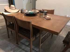 Modern, antique buffet and table for Sale in North Las Vegas, NV