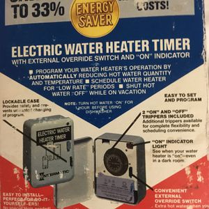 Intermatic Electric Water Heater Timer for Sale in Youngsville, NC