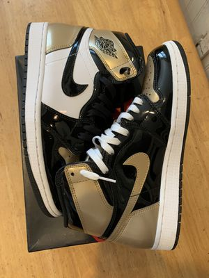 JORDAN 1 GOLD TOE for Sale in Plymouth, MA