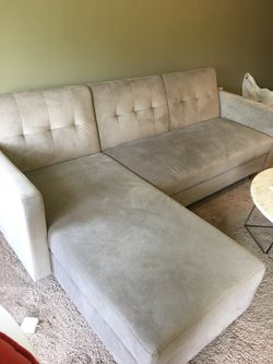Grey Sectional Couch for Sale in Franklin,  MA