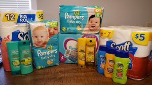 Diaper, paper deal for Sale in Fort Wayne, IN