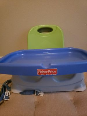 Fisher Price High Chair, Booster Seat for Sale in Fort Worth, TX