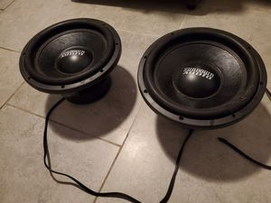 Sundown Audio 12 in SA-12 Subwoofers for Sale in St. Petersburg, FL