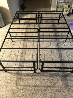New bed frame full size never used, 14 inches high can give lots of storage space. for Sale in Cincinnati, OH