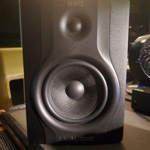 m audio bx5 studio monitors for Sale in Visalia, CA