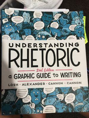 Understanding rhetoric 2nd edition for Sale in Long Beach, CA