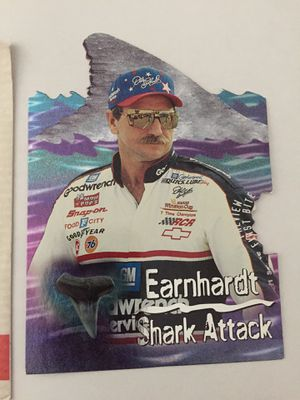 Wheels Race Card DALE EARNHARDT ( Shark Attack First Bite ) for Sale in Chester, VA