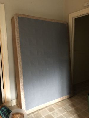 Box spring + Bed frame : FULL SIZE BED for Sale in Chico, CA