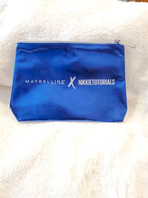 NEW Maybelline × Nikkie Tutorials Makeup Bag for Sale in Cleveland, OH