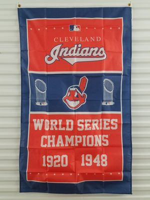 Cleveland Indians World Series Championship Banner *NEW🔥SAME DAY SHIPPING! for Sale in Manassas, VA