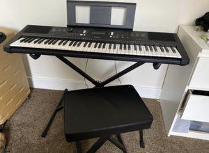 Yamaha PSR-EW300 Portable Keyboard Bundle for Sale in Philadelphia, PA