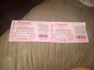 Water park tickets for Sale in Cleveland, OH