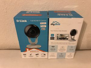 D link indoor camera 1080p wifi network for Sale in Miami, FL