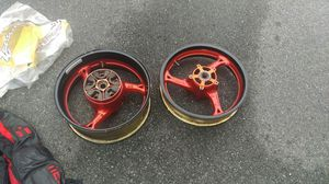 Hayabusa Rims, Jacket, Helmet for Sale in Glenn Dale, MD