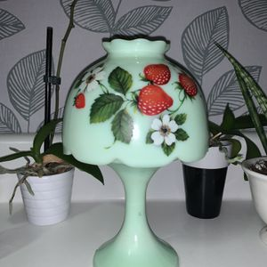 Westmoreland Jadeite Strawberry Fairy Lamp for Sale in Indianapolis, IN