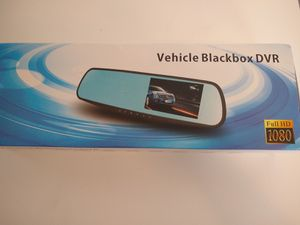 Rearview Mirror Camera + Backup Camera Recorder for Sale in Spokane, WA
